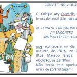 XII Feira de Trigonometria & VIII Encontro Artístico e Cultural do CAQ