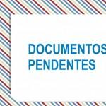 Documentos Pendentes